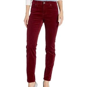 Kut from the Kloth Diana Skinny Corduroy Shiraz 4